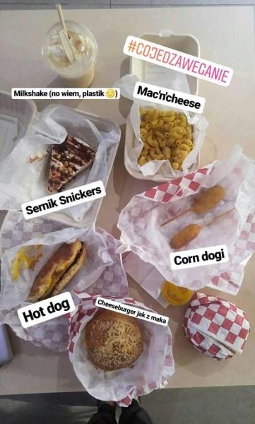 wegański fast food jak z mcdonalna