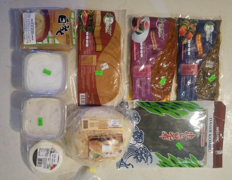 wegańskie zakupy w Meksyku