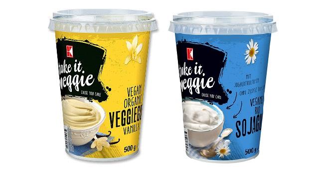 jogurty sojowe Kaufland