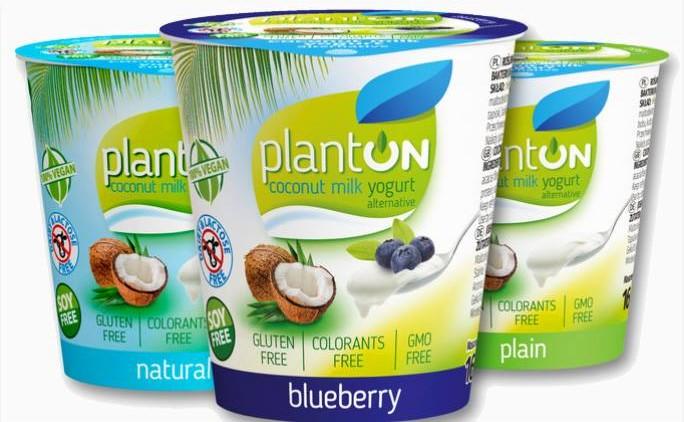 wegańskie jogurty kokosowe z Lidla