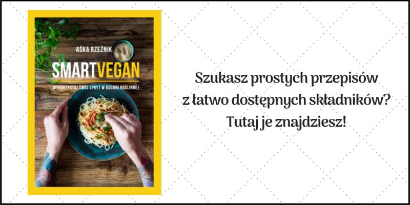 proste wegańskie przepisy - książka