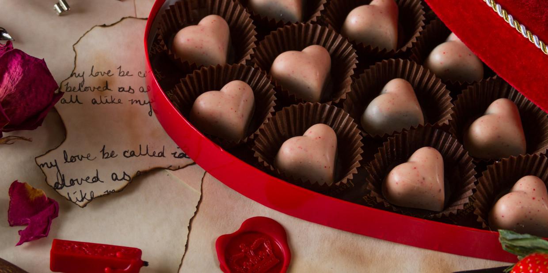 wegańskie czekoladki - przepis