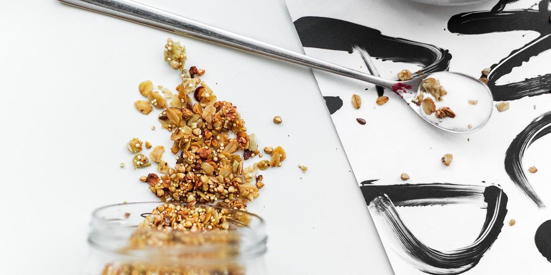 granola wegańska szybka - przepis
