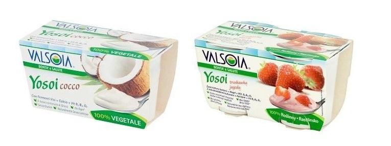 jogurty sojowe Valsoia Tesco