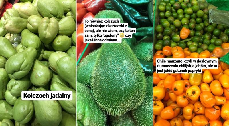 warzywa w Meksyku