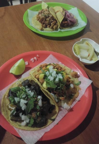 wegańskie tacos w meksyku