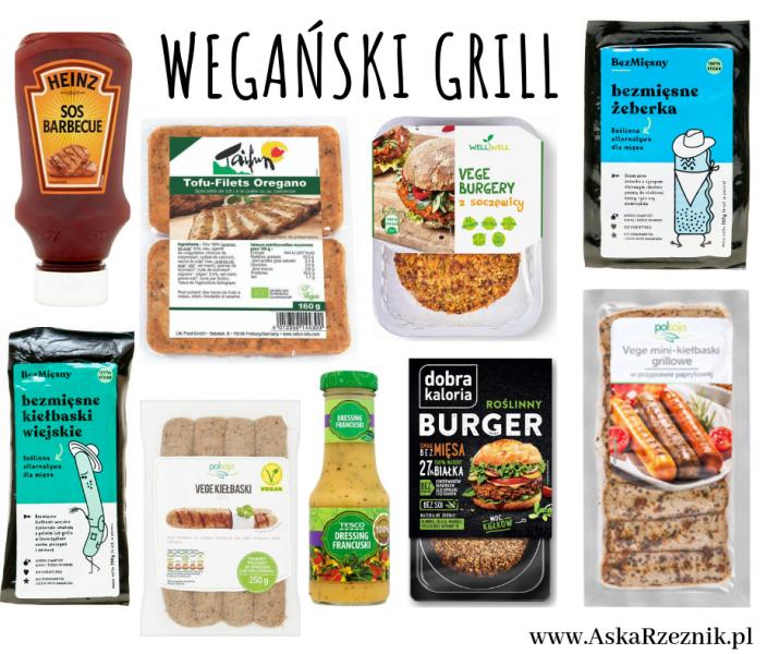 wegański grill, czyli grill bez mięsa - prodoukty i przepisy