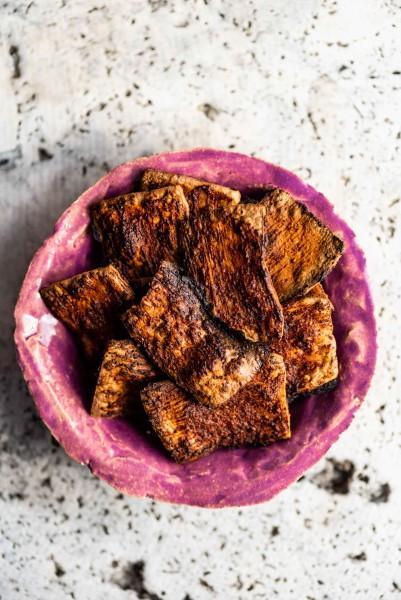 wege boczek z tofu na grilla - przepis