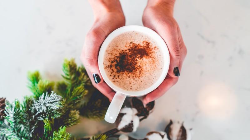 wegański słony karmel do kawy