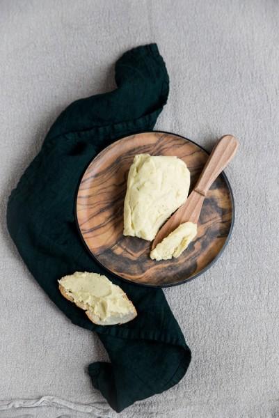 wegańskie masło czosnkowe - przepis