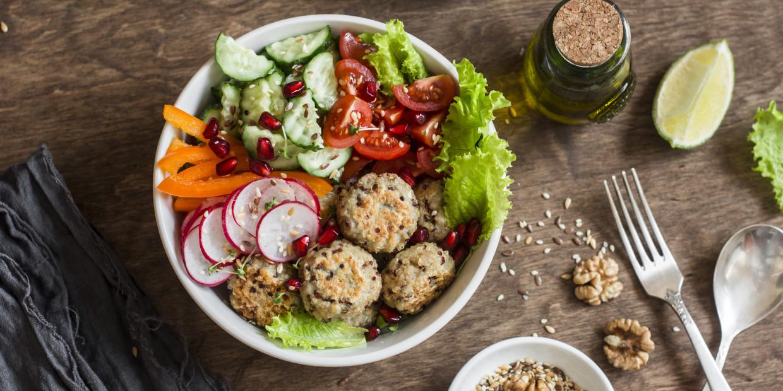 pomysły na szybki wegański obiad