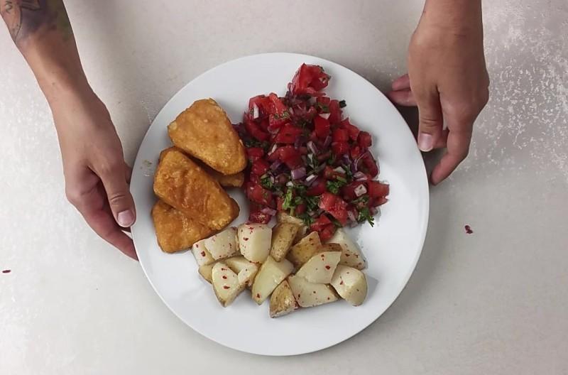 szybki wegański obiad - pomysł