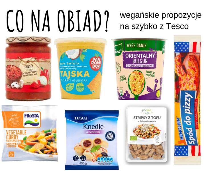 wegański obiad - pomysły z Tesco
