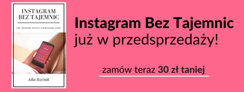 Ebook Instagram Bez Tajemnic - Przedsprzedaż