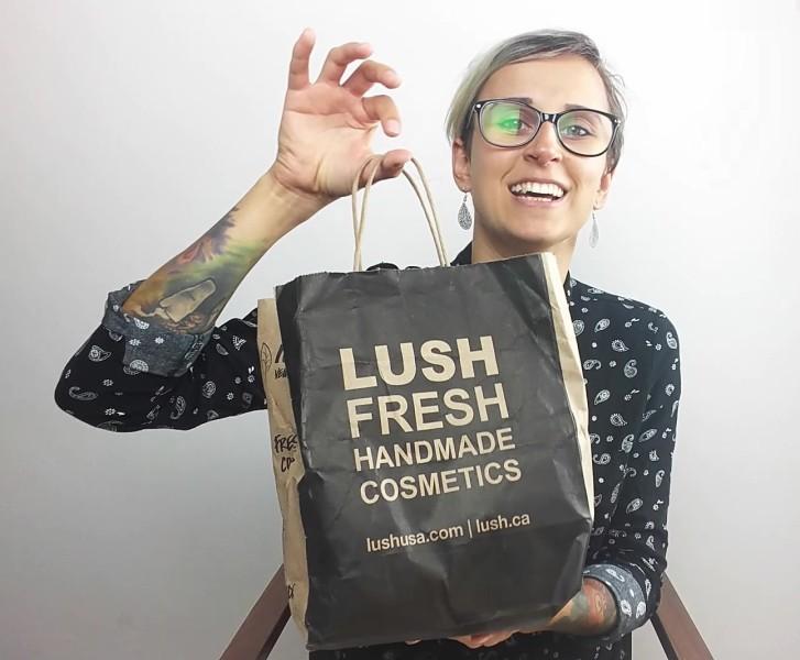wegańskie zakupy w LUSH
