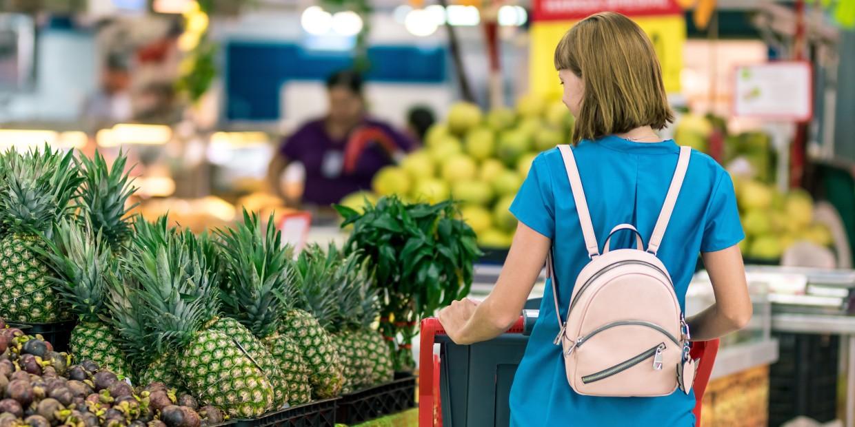 wegańskie produkty w Lidlu