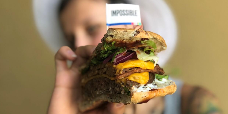 impossible burger - jak wygląda i smakuje?