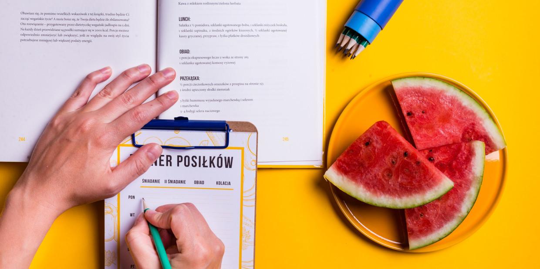 jak jeść zdrowo nie mając czasu, planer posiłków