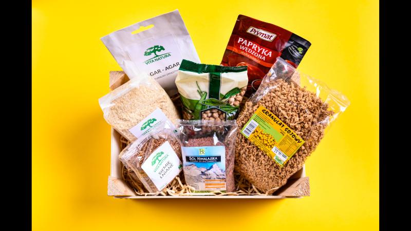 wegańskie produkty, zakupy dla początkujących