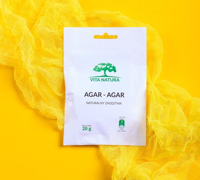 wegańska żelatyna - agar agar