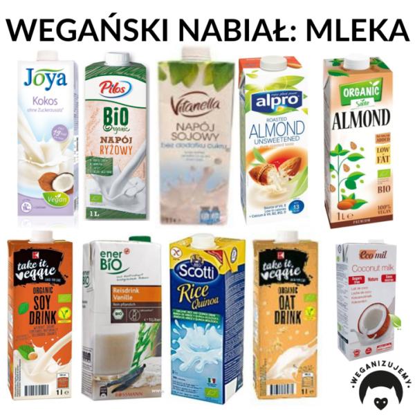 mleka roślinne - gdzie kupić?