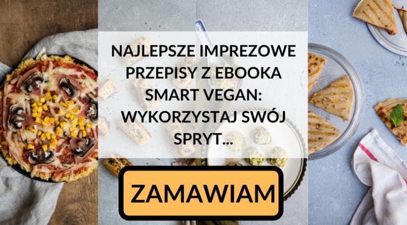wegańskie przekąski na Sylwestra - proste przepisy