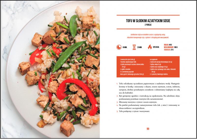 przepis na tofu po azjatycku z ebooka SMART VEGAN