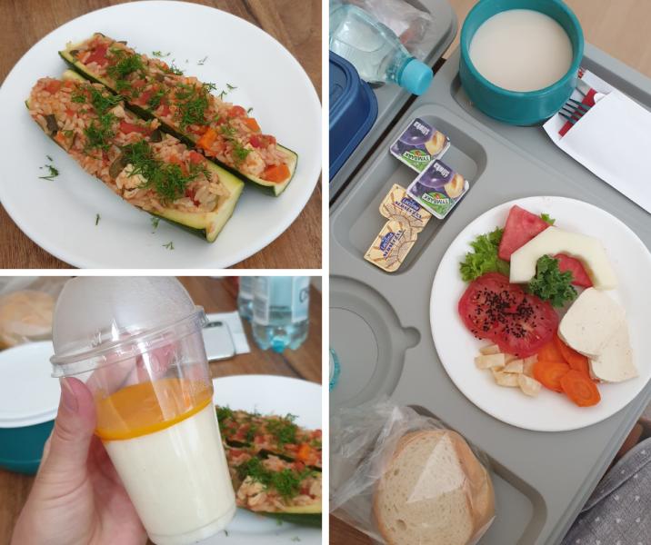 wegańskie jedzenie w szpitalu Medicover